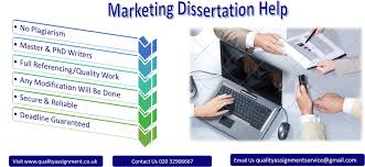 Marketing Dissertation Help Quality Assignment