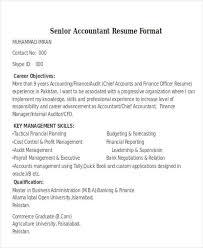 Senior Auditor Resume Accountant Resume Resume Format