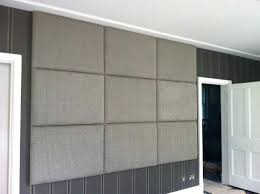fabric wall panels for a bedroom panel art diy