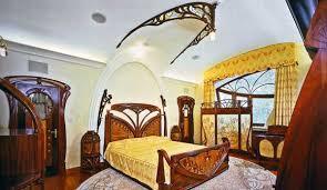 Elegant Art Nouveau Bedroom Furniture Adorable Interior Design For