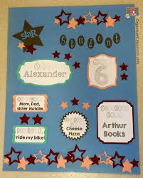 i love this idea for creating a star student poster that can be updated weekly for