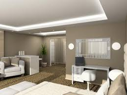 tan color paintNeutral Tan Color Wall Paint Scheme For Modern Small Living Room