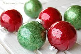 Decorating Christmas Ornaments Balls How to make glitter Christmas ornaments DIY The Ornament Girl 90