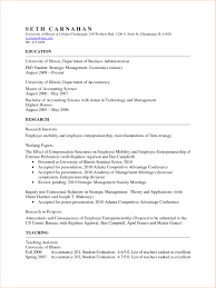 Template Academic Cv Template Business Proposal Templated Resume