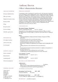 Office Manager Resume Sample Adorable Office Manager Resume Sample From Fice Administrator Resume Examples