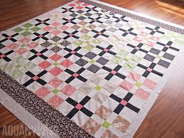 How to Pattern Match a Quilt Backing | Aqua Paisley Studio & I hope you enjoyed this little 'how-to' tutorial and will give it a go the  next time you have a patterned backing that will benefit from being  patterned ... Adamdwight.com