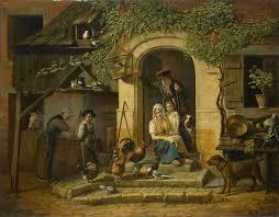 hunter s home by henry voordecker 1826