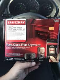 new craftsman assurelink garage door opener smartphone control kit 53999