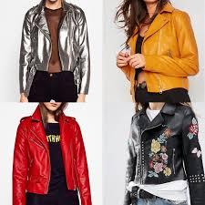 zara metallic faux biker jacket in silver 79 95 2 missy empire faux leather jacket in mustard 38 3 zara biker jacket in red 25 95 4