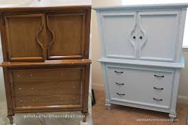 ideas for painted furniture. Images Of 60u0027s Armoire Before And After - Painted Furniture Ideas For E