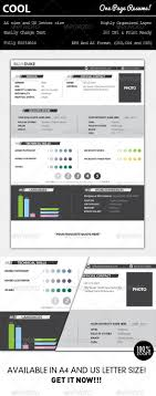 17 best images about cv infographic resume cool one page resume