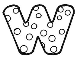 Alfabet Stippen Kleurplaten Clip Art Library