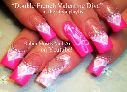 Robin Moses Nail Art: Shabby Chic Antique meets Diva Prints in ...