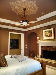 How To Decorate A Tray Ceiling tray ceiling paint the middle portion the same color as the walls 89