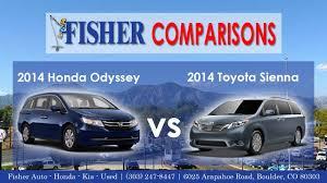 2014 Honda Odyssey vs. 2014 Toyota Sienna | Vehicle Comparison ...