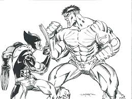 Free printable x men coloring pages online for kids play fun online games for kids at heroesarcade.com. Online Coloring Pages Coloring Page Logan And Beast X Men Download Print Coloring Page