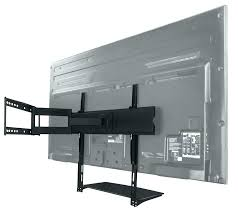 phenomenal tv wall mount with cable box holder bracket for shelf soundbar without drilling attachment arm stud swivel