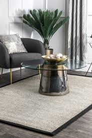 solid checker weave sisal area rug gray tropical area rugs by nuloom