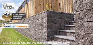 retaining wall blocks posts