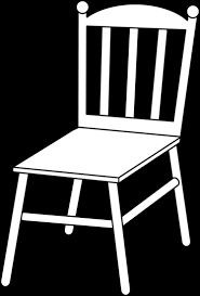 school chair clipart black and white. Exellent White Chair Clipart Black And White To School