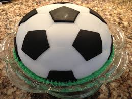 How To Decorate A Soccer Ball Cake Soccer Ball Cake Rachelle's Blog 2