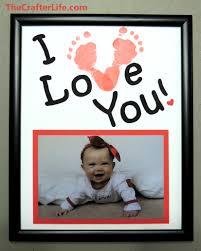 baby footprint frames
