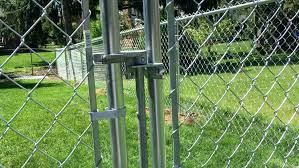 chain link fence post sizes. Beautiful Sizes Installing A Chain Link Fence Medium Size Of Post Height How To  Install With Chain Link Fence Post Sizes