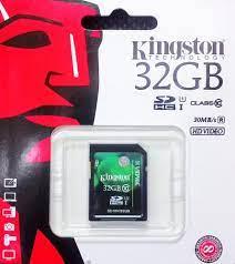 Thẻ nhớ Micro SDHC Kingston 32GB Class 10 (SD10V/32GB)
