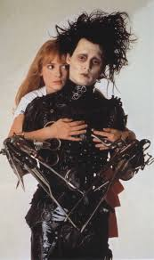 edward scissorhands archives i see hungry people the dark world of tim burton johnny depp as edward scissorhands