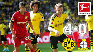 Find bayer 04 leverkusen fixtures, results, top scorers, transfer rumours and player profiles, with exclusive photos and video highlights. Borussia Dortmund Vs Bayer Leverkusen I 4 0 I Reus Alcacer And Co Score In Goal Fest Highlights Youtube