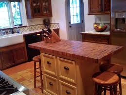 mesquite butcher block island top this is a 2 thick top using end grain construction with 3 4 wide random length blocks it has a softened edge and tung