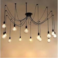 large edison light chandelier bulb track lighting