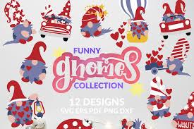 You will receive 14 png high quality 300 dpi with tran. Gnome Svg Bundle Gnomes Design Valentine Kids T Shirt 433973 Svgs Design Bundles