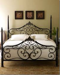 rod iron bed. Plain Iron Guinevere Bed From Horchow  Heavy Gauge Steel In A Beautifully Scrolled  Romantic Design Complete With Four Posts 79900 For Queen For Rod Iron U