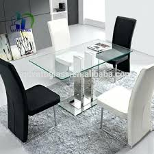 glass dining table top tempered glass top used modern glass dining table design tempered glass table