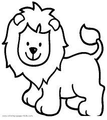 We hope you enjoy our chinese new year coloring pages. Simple Lion Color Page