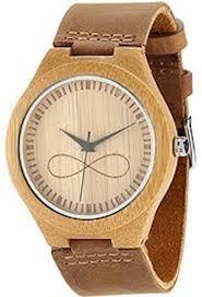 wonbee men s bamboo wood watch