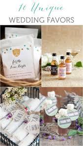 10 Unique Wedding Favor Ideas Weddings Ideas From Evermine