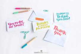 Thank You For Being You — Free Mini Thank You Notes - Cardstore Blog