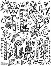 What do the colors mean? 31 Growth Mindset Coloring Pages For Your Kids Or Students