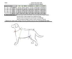 Neoprene Dog Vest Size Chart Neoprene Dog Vest Drake Waterfowl