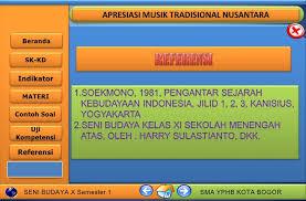 Iringan musik ini tentu tidak ada bedanyan dengan musik tradisional pada umumnya, namun dalam cara memainkan musiknya yang menjadi pembeda sekaligus rangkaian khas budaya ini. Apresiasi Musik Tradisional Nusantara Cute766