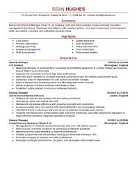 best general manager resume example livecareer create my resume