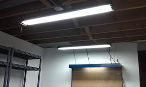 fluorescent lights light fixtures for garage install incredible led lighting top 25 best