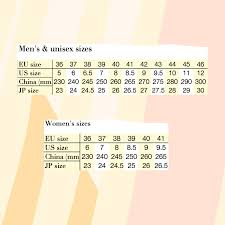 European To Us Size Chart Mens Size Guide