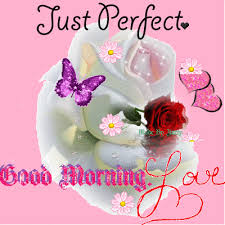 just perfect good morning love