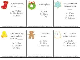 A Perfect Processing Christmas: Auditory Closure Activities ...