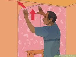 image titled hang wallpaper step 17