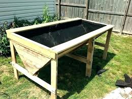 sublime how to build a raised garden bed with legs raised garden bed corners raised gardening