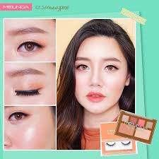 sweet look makeup tutorial korean style by snowwypare x meilinda